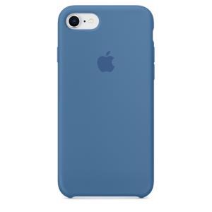 iPhone 8 / 7 Silicone Case - Denim Blue
