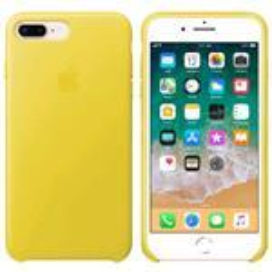 iPhone 8 Plus/ 7 Plus Leather Case Yellow