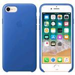 iPhone 8/7 Leather Case - Blue