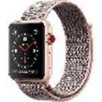 Watch Series 3 (gps + Cellular) - 38 Mm - Gold Aluminium - Smart Watch With Sport Loop - Woven (MQKL2B/A)