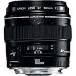 Fixed Focal Length Lens Ef 100mm F/2 Usm (2518a012aa)