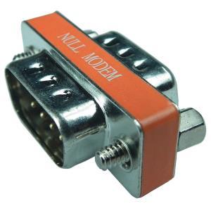 Mini Db9m-m Null Modem Adapter