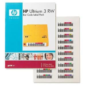 Ultrium 3 Rw Bar Code Label Pack 100-pk