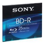 Blu-ray Media Recordable 25GB Single Slim Case (bnr25sl)