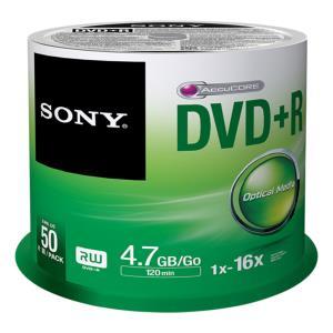 DVD+r Media 4.7GB 16x 50pk