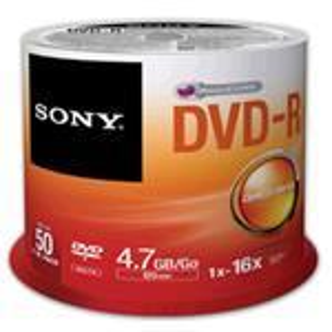 DVD-r Media 16x Spindle 50pcs