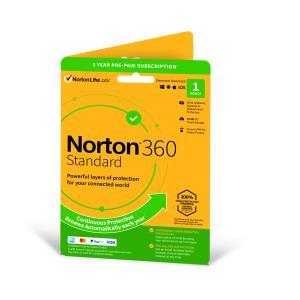 Norton 360 Standard 10GB 1 User 1 Device 1 Year