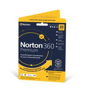 Norton 360 Premium 75GB 1 User 10 Device 1 Year