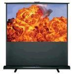 Projector Screen Manual Pull Up DP-1082MWL 82in 16:10 1.0 Gain/ Matte White