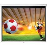 Projector Screen Manual Pull-down 84in 4:3 Gain1.0 - Matte White/ Ds-3084pwc